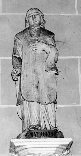 Statue (demi-nature): saint Mathurin