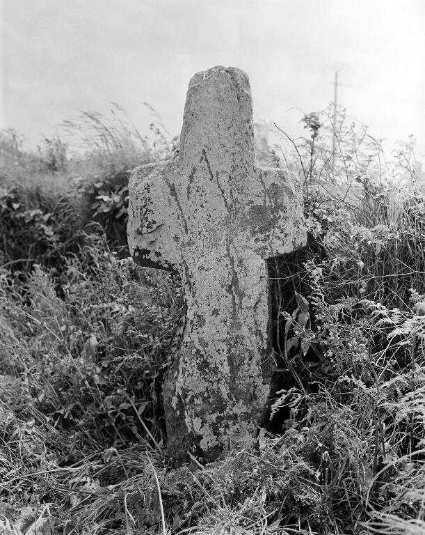 Croix de chemin, dite croix du Budou, Buors Vihan (Lanhouarneau)