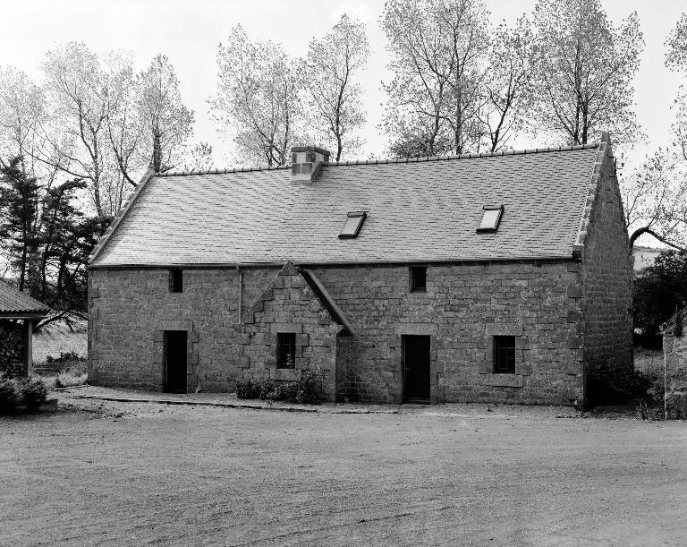 Les maisons et les fermes sur la commune de Tréflez