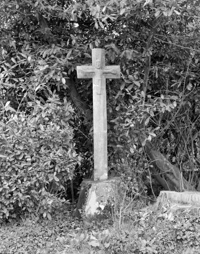 Croix de Chemin, le Bas Bourg (La Chapelle-Chaussée)