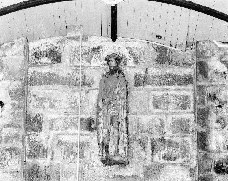 Statue: Jésus présenté au peuple, église paroissiale Saint-Pierre (Plougar)
