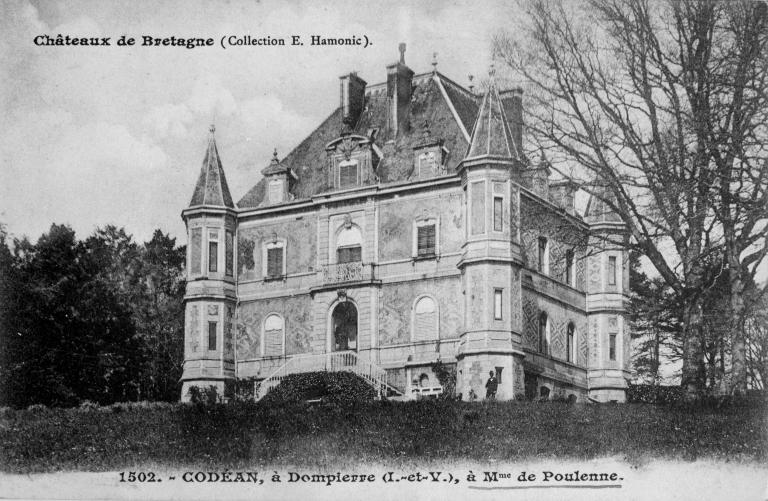 Château de Kodéan (Dompierre-du-Chemin fusionnée en Luitré-Dompierre en 2019)