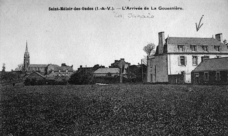 Village de Saint-Méloir-des-Ondes ; Manoir de la Jeannais, 23 rue de la Gare, la Jeannais (Saint-Méloir-des-Ondes)