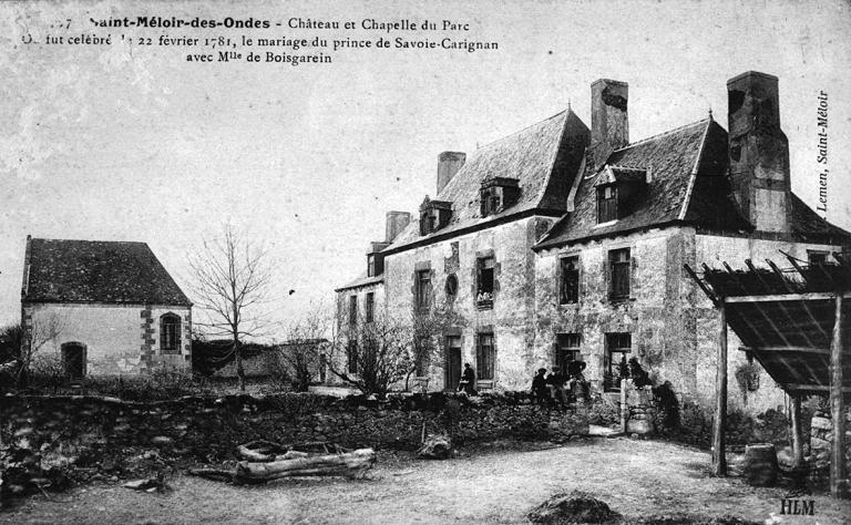 Manoir, le Parc (Saint-Méloir-des-Ondes) ; Chapelle Saint-Jean-Baptiste du Parc (Saint-Méloir-des-Ondes)