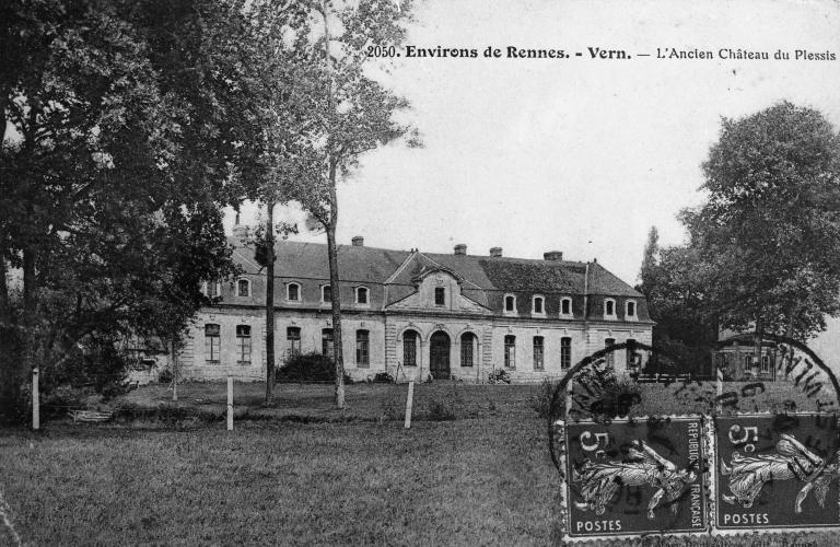 Château, puis distillerie, le Plessis (Vern-sur-Seiche)