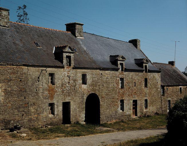 Ensemble de deux maisons, la Ville Gall (Sérent)