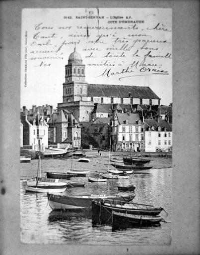 Eglise paroissiale Sainte-Croix, Saint-Servan (Saint-Malo)