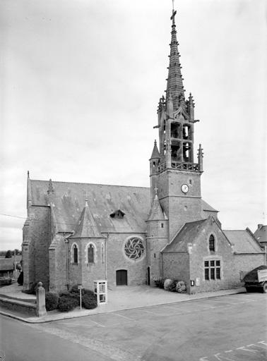 Eglise paroissiale Sainte-Anne (Romagné)