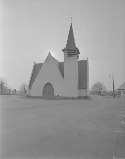 Chapelle Saint-Fiacre, église paroissiale, la Fleuriais (Ercé-en-Lamée)
