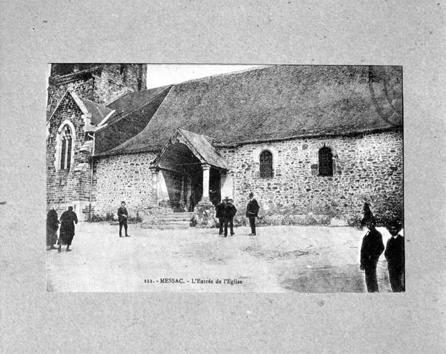 Eglise paroissiale Saint-Abdon, Saint-Sennen (Messac fusionnée en Guipry-Messac en 2016)