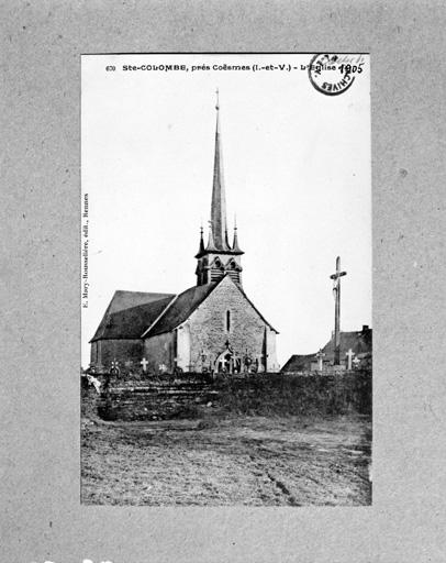 église paroissiale Sainte-Colombe