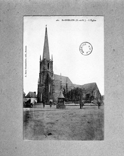 église paroissiale Saint-Hermeland