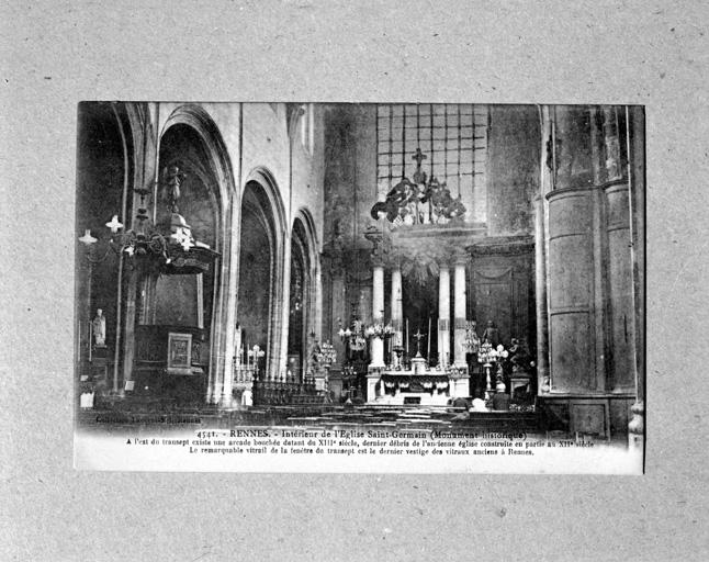 Eglise paroissiale Saint-Germain, 15 rue Saint Georges (Rennes)
