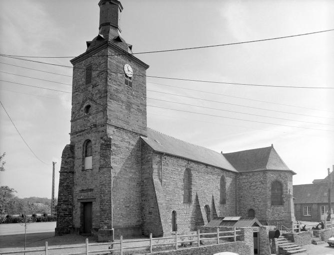Eglise paroissiale Saint-Tugdual (Baulon)