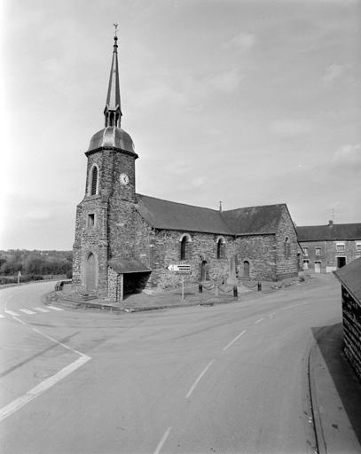 prieuré (prieuré cure) de chanoines réguliers, église paroissiale Saint-Martin