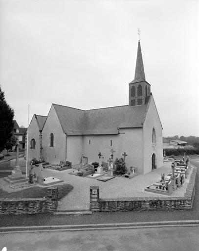 Eglise paroissiale Saint-Melaine, Moigné (Le Rheu)