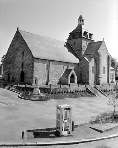 Prieuré Saint-Martin, église paroissiale de bénédictins (Tremblay fusionnée en Val-Couesnon en 2019)