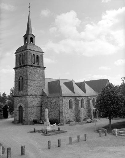 Eglise paroissiale Saint-Martin-de-Tours (Amanlis)