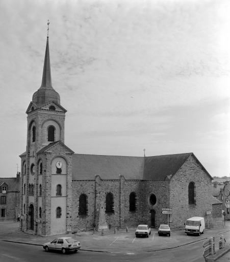 Prieuré de bénédictins, église paroissiale Saint-Martin (Tresboeuf)