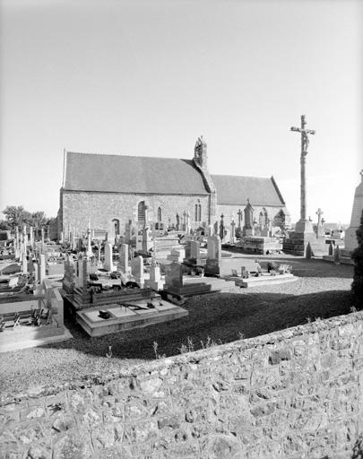 Prieuré Saint-Georges (prieuré cure), église paroissiale de bénédictins (Saint-Georges-de-Gréhaigne)