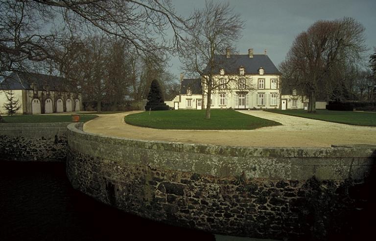 """""""Château, """"malouinière""""dite la Mettrie aux Louëts (Saint Coulomb)"""""""