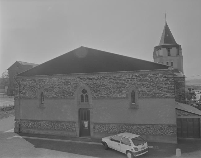 Eglise paroissiale Saint-Melaine (Pont-Péan)