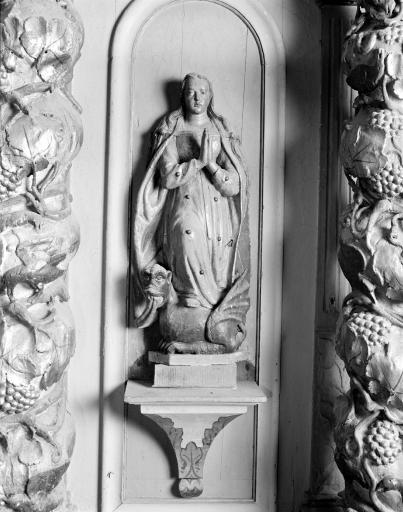 Statue: Sainte Marguerite