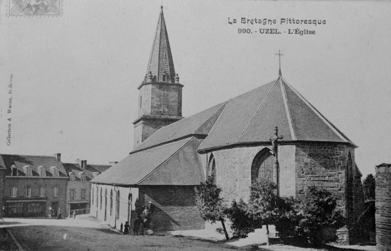 Eglise paroissiale Saint-Nicolas, rue Notre-Dame (Uzel)