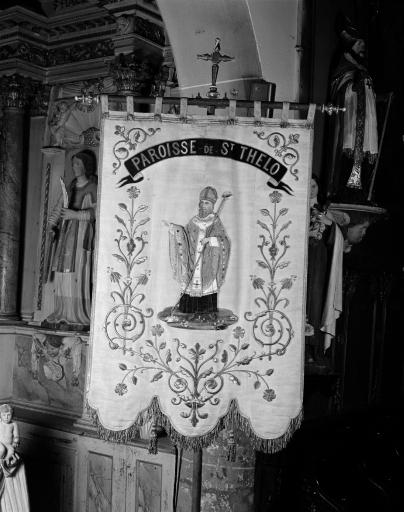 Bannière de procession: Saint Thélo