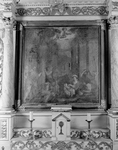 Tableau: Adoration des bergers