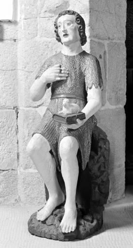 Statue: Saint Jean Baptiste