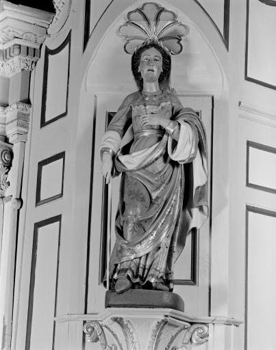 Statue: Vierge, dite Notre Dame de Bon Voyage