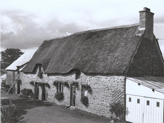 Présentation de la commune de Baguer-Pican ; Ferme, Trohel (Baguer-Pican)