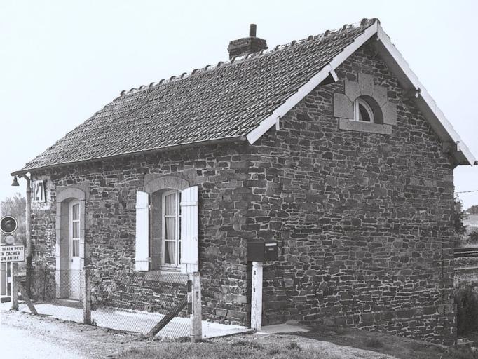 Maison de garde-barrière n° 127, Villouet (Baguer-Pican)