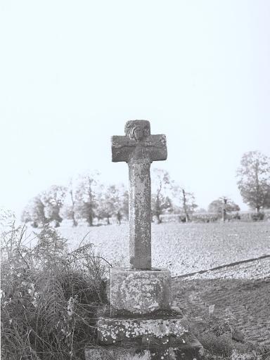 Présentation de la commune de Baguer-Pican ; Croix de chemin, la Mancellière (Baguer-Pican)
