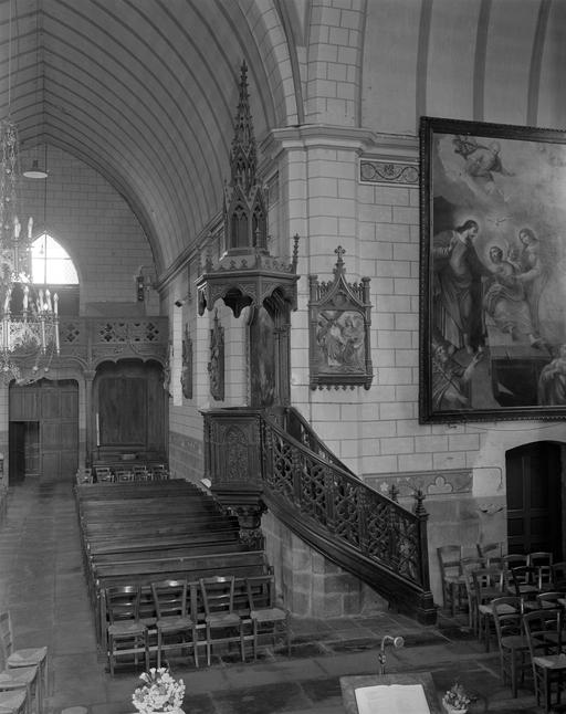 Chaire à prêcher, Style néo-gothique