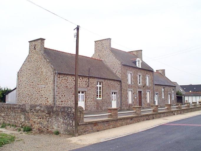 Maison, 27 rue du Lion d'Or (Cherrueix) ; École, 27 rue du Lion d'Or (Cherrueix)