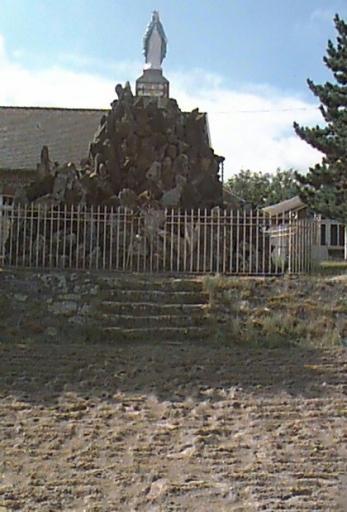 Monument de la Vierge dite Notre Dame de la Garde, rue de la Plage (Cherrueix)