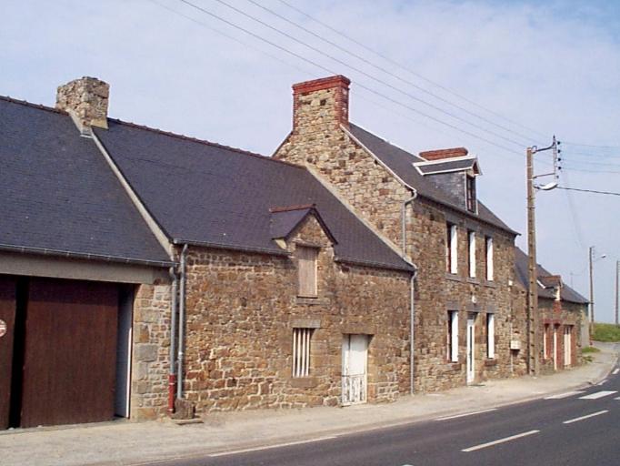 Maison, 2 route départementale 797, la Larronnière (Cherrueix) ; Maison, 4 route départementale 797, la Larronnière (Cherrueix)
