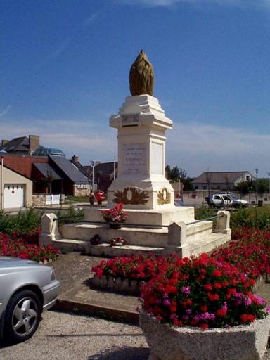 Monument aux morts, place de l'Eglise (Cherrueix)