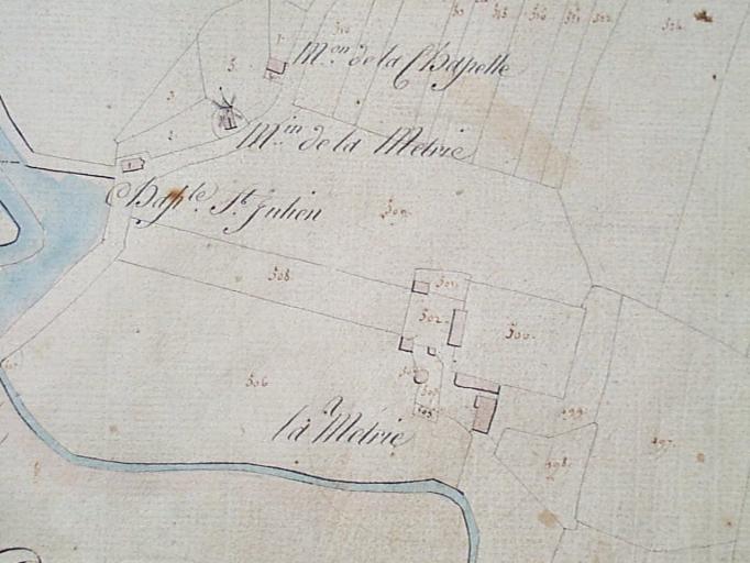 Présentation de la commune de Cherrueix ; Manoir, la Métrie (Cherrueix)