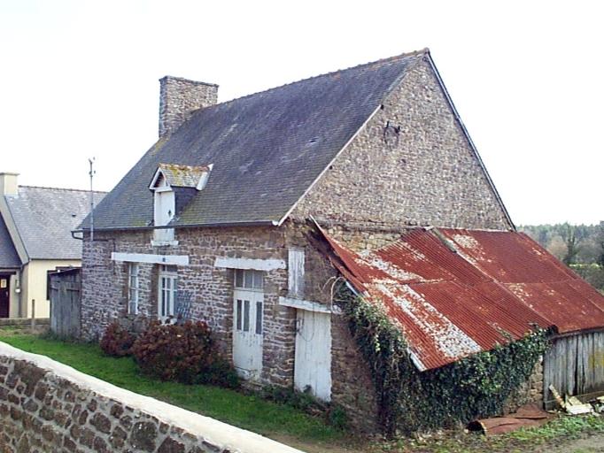 Ferme, 5 rue de l'Eglise, Saint-Léonard (Epiniac)