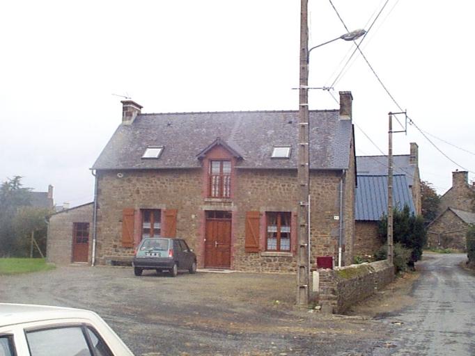 Maison, 4 l'Epine-Roulier, Saint-Léonard (Epiniac)