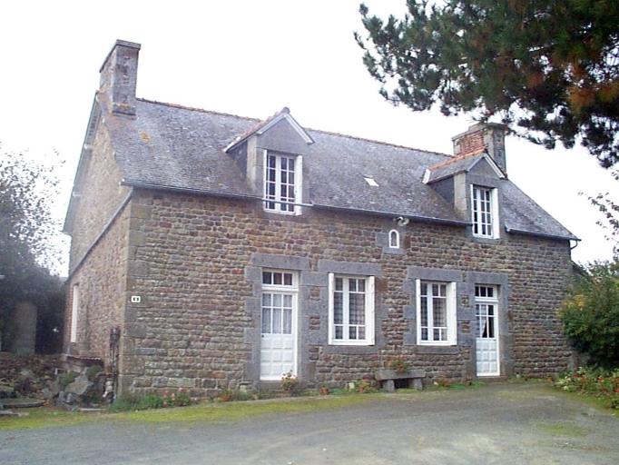 Maison, 1 rue de la Basse-Butte, Saint-Léonard (Epiniac)