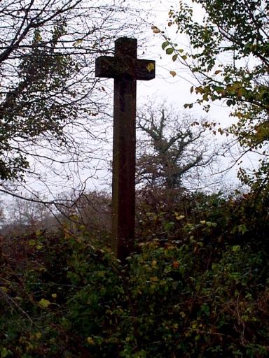 Croix de chemin, la Basse Bouillière (Epiniac)