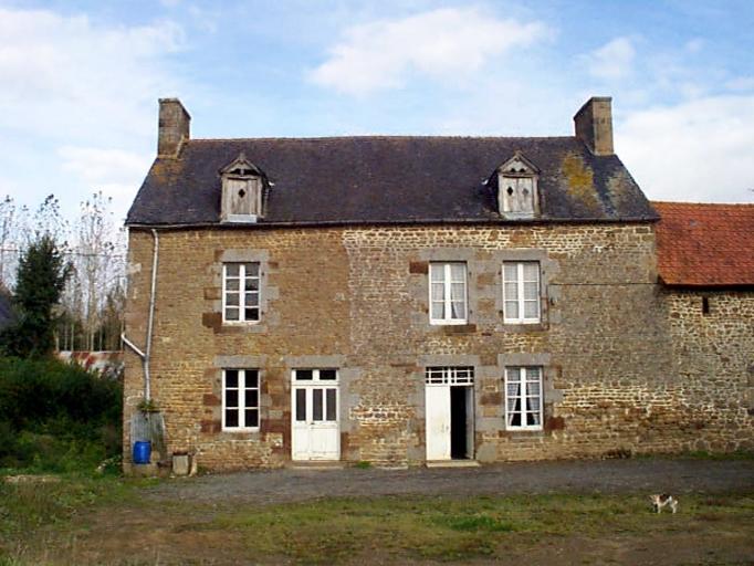 Ferme, la Basse Roche (Baguer-Morvan)