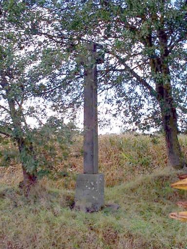 Croix de chemin, V.C. 17 ;   R.D. 795, le Frèche (Baguer-Morvan)