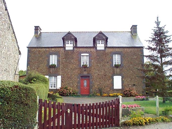 Maison, la Fontaine au Feu (Baguer-Morvan)
