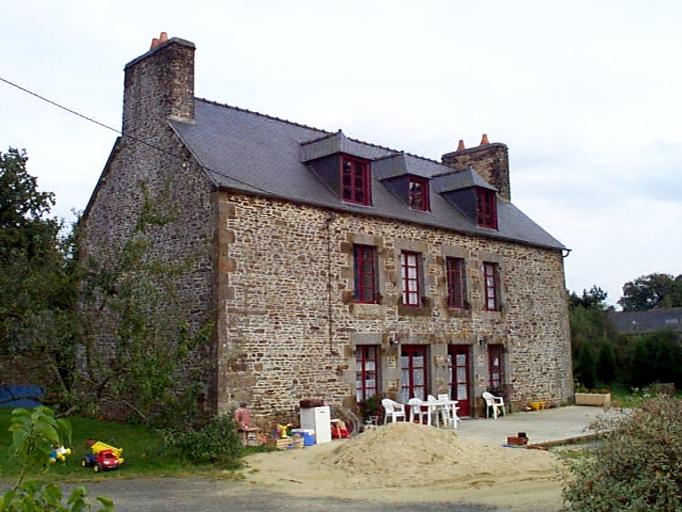 Ferme, la Hertaudière (Baguer-Morvan)