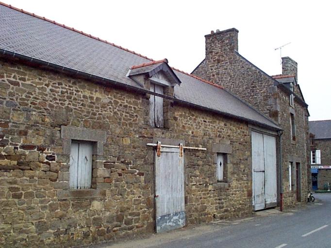 Ferme, rue du Clos Fresnais (Baguer-Morvan)